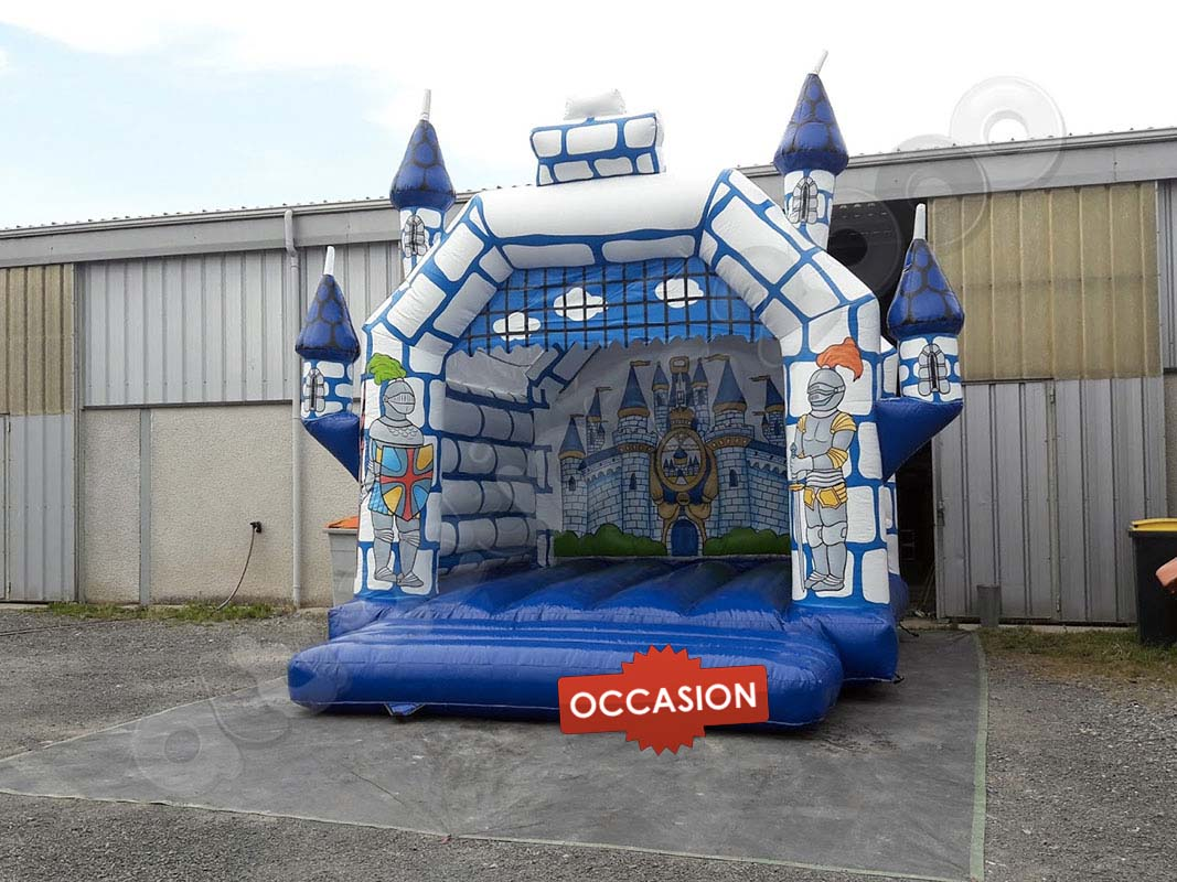 attraction - chateau fort plastique