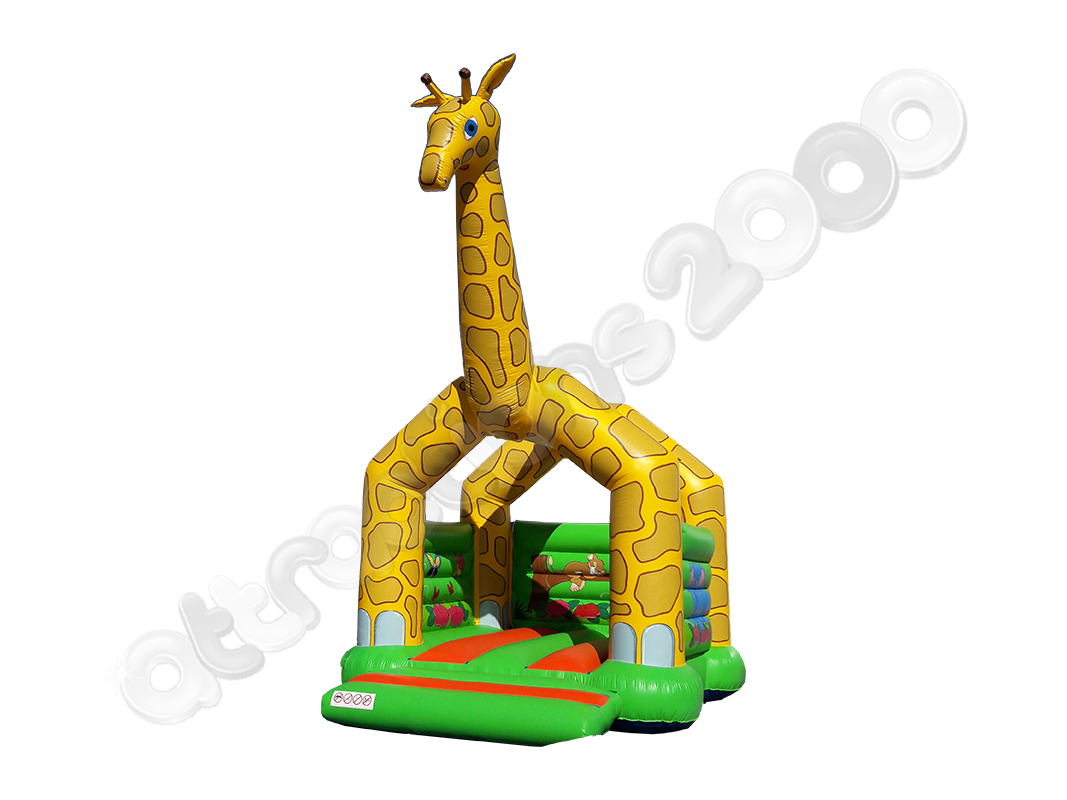 Location de chateau gonflable girafe