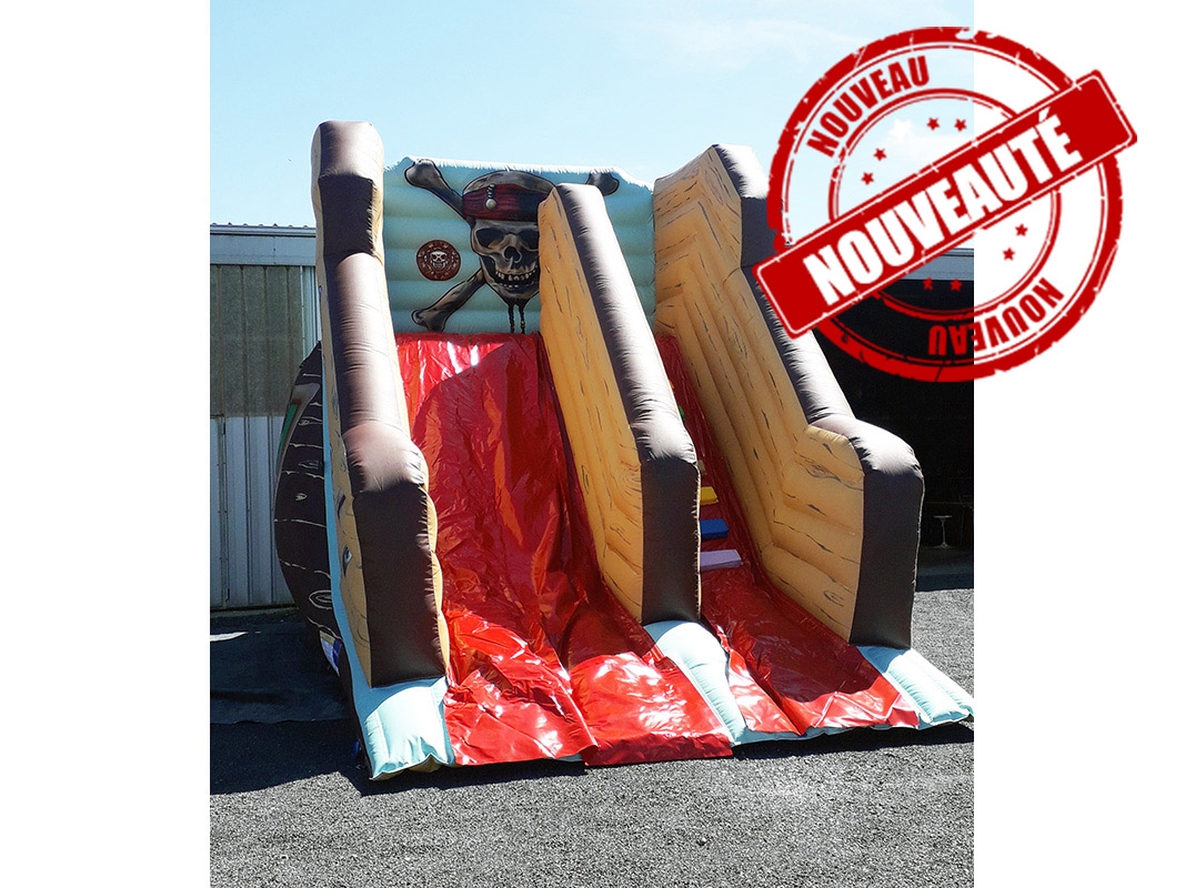 Toboggan pirate caraibe
