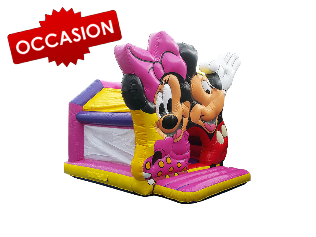 chateau gonflable disney mickey